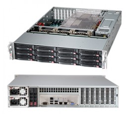 Supermicro SuperChassis CSE-826BAC4-R920LPB Storage JBOD 2U Chassis, No HDD