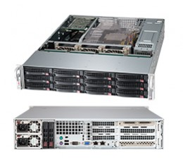 Supermicro SuperChassis CSE-826BE26-R920UB Storage JBOD 2U Chassis, No HDD