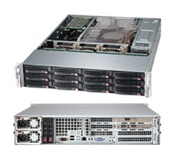Supermicro SuperChassis CSE-826BE16-R1K28WB Storage JBOD 2U Chassis, No HDD