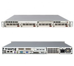 Supermicro A+ Server 1010P-8,1U Barebone System, No CPU, No RAM, No HDD