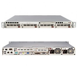 Supermicro A+ Server 1010P-8R,1U Barebone System, No CPU, No RAM, No HDD
