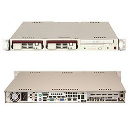 Supermicro A+ Server 1010S-T,1U Barebone System, No CPU, No RAM, No HDD