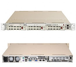Supermicro A+ Server 1020A-8B,1U Barebone System, No CPU, No RAM, No HDD