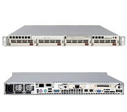 Supermicro A+ Server 1020A-T,1U Barebone System, No CPU, No RAM, No HDD