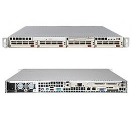 Supermicro A+ Server 1020S-8,1U Barebone System, No CPU, No RAM, No HDD