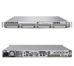 Supermicro A+ Server 1021M-T2+B,1U Barebone System, No CPU, No RAM, No HDD