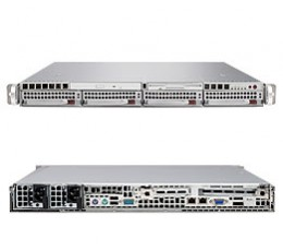 Supermicro A+ Server 1021M-T2RB,1U Barebone System, No CPU, No RAM, No HDD