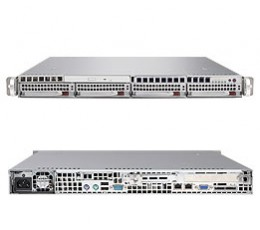 Supermicro A+ Server 1021M-T2B,1U Barebone System, No CPU, No RAM, No HDD