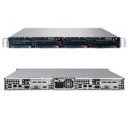 Supermicro A+ Server 1021TM-INF+B,1U Barebone System, No CPU, No RAM, No HDD