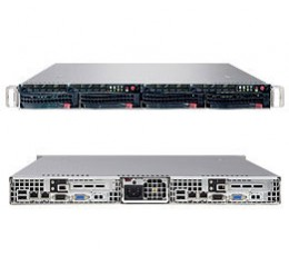 Supermicro A+ Server 1021TM-T+B,1U Barebone System, No CPU, No RAM, No HDD