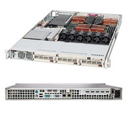 Supermicro A+ Server 1040C-8,1U Barebone System, No CPU, No RAM, No HDD