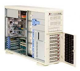 Supermicro A+ Server 4020A-8R,Tower  4U Rackmountable Barebone System, No CPU, No RAM, No HDD