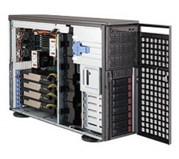 Supermicro SuperChassis CSE-747TG-R1400B-SQ Storage JBOD Tower / 4U  Chassis, No HDD