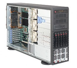 Supermicro A+ Server 4041M-32R+B,Tower  4U Rackmountable Barebone System, No CPU, No RAM, No HDD