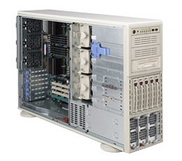Supermicro A+ Server 4041M-T2R,Tower  4U Rackmountable Barebone System, No CPU, No RAM, No HDD