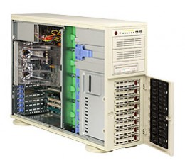 Supermicro A+ Server 4020C-T Tower  4U Rackmountable Barebone System, No CPU, No RAM, No HDD
