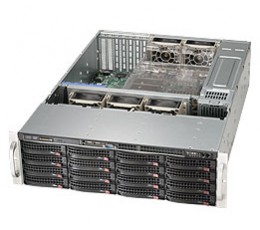Supermicro SuperChassis CSE-836BE1C-R1K23B , 3U NO HDD