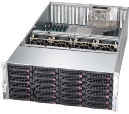 Supermicro SuperChassis 826BE2C-R741JBOD Storage JBOD 4U Chassis, No HDD