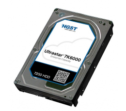 "HGST 3.5"" 6TB SATA 6Gb/s 7.2K RPM 128M 0F23021 512e SE Air (Aries KP)"