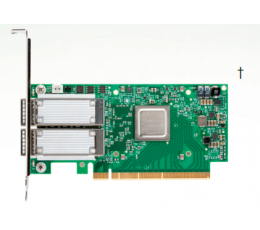 MCX453A-FCAT - ConnectX-4 VPI adapter card, FDR IB (56Gb/s) and 40/56GbE, single-port QSFP28