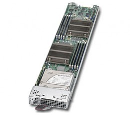 Supermicro Microblade Enclosure MBI-6219G-T, Blade Compute Node, No CPU, No RAM, No HDD