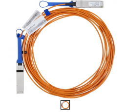 Mellanox active fiber cable, VPI, up to 56Gb/s, QSFP, 3m - Part ID: MC220731V-003