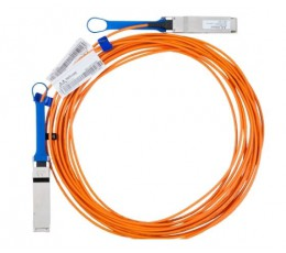 Mellanox Active Fiber Cable, Ethernet, 40GbE, 40Gb/s, QSFP, 15 meters