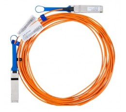 Mellanox Active Fiber Cable, Ethernet, 40GbE, 40Gb/s, QSFP, 30 meters