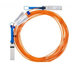 Mellanox Active Fiber Cable, Ethernet, 40GbE, 40Gb/s, QSFP, 100 meters