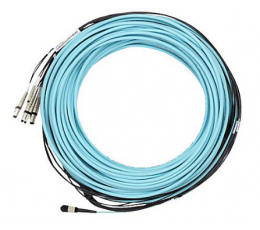Mellanox passive fiber hybrid cable, MPO to 8xLC, 20m - Part ID: MC6709309-020