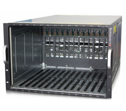 Supermicro Superblade Enclosure SBE-714E-D28, Blade Compute Node, No CPU, No RAM, No HDD