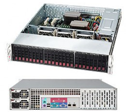 Supermicro SuperChassis 216E26-R1200LPB Storage JBOD Chassis, No HDD