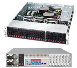 Supermicro SuperChassis CSE-216BE16-R1K28LPB Storage JBOD 2U Chassis, No HDD