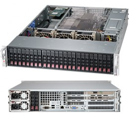 Supermicro SuperChassis CSE-216BE26-R1K28WB 2U Chassis, No HDD