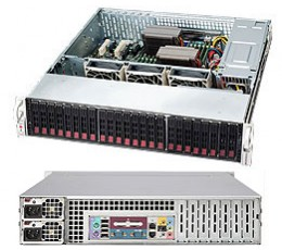Supermicro SuperChassis CSE-216E16-R1010LPB 2U Chassis, No HDD