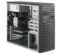 Supermicro SuperServer 5018A-FTN4, Mid-Tower Barebone System, No CPU, No RAM, No HDD