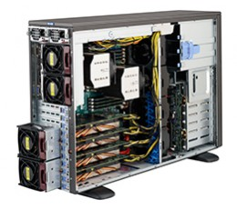 Supermicro SuperChassis CSE-747BTQ-R1K62B 4U Tower/ Rachmount chassis, No HDD