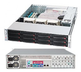 Supermicro SuperChassis CSE-826A-R1200LPB Storage JBOD Tower / 4U  Chassis, No HDD