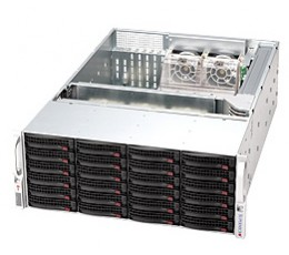 Supermicro SuperChassis 846E16-R1200B Storage JBOD 4U Chassis, No HDD