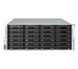 Supermicro SuperChassis 847E26-R1K28WBStorage JBOD 4U Chassis, No HDD