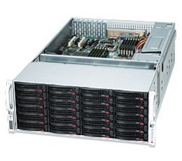 Supermicro SuperChassis 847E16-R1K28LPBStorage JBOD 4U Chassis, No HDD