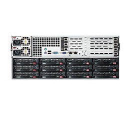 Supermicro SuperChassis 847E16-R1400UBStorage JBOD 4U Chassis, No HDD