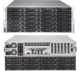 Supermicro SuperChassis 847BE2C-R1K28LPB Storage JBOD 4U Chassis, No HDD