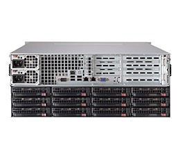 Supermicro SuperChassis 847A-R1K28WB Storage JBOD 4U Chassis, No HDD