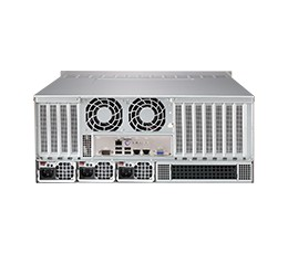 Supermicro SuperChassis 848A-R1K62B 4U Chassis, No HDD