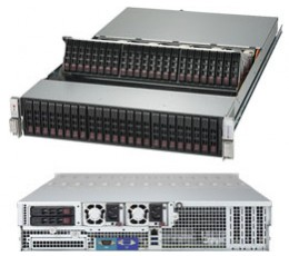 Supermicro SuperStorage Server 2028R-E1CR48N, 2U Barebone System, No CPU, No RAM, No HDD