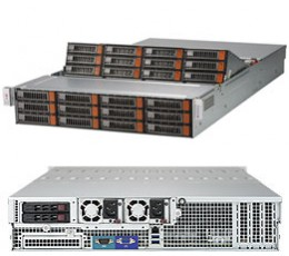 Supermicro SuperStorage SSG-6028R-E1CR24L, 2U Barebone System, No CPU, No RAM, No HDD