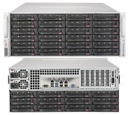 Supermicro SuperStorage SSG-6048R-OSD432 4U-72 Ceph OSD Node, 432TB, Capacity Optimized Ceph-OSD-Storage Node.