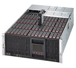 Supermicro SuperStorage Server 6048R-E1CR60L, 4U Rackmount (Complete System Only)