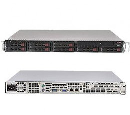 Supermicro SuperServer SYS-1016I-M6F, 1U, NO CPU, RAM & HDD